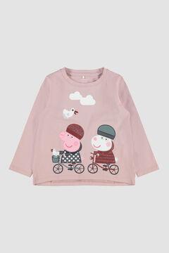 Womensecret Camiseta Pepa Pig niña rosa