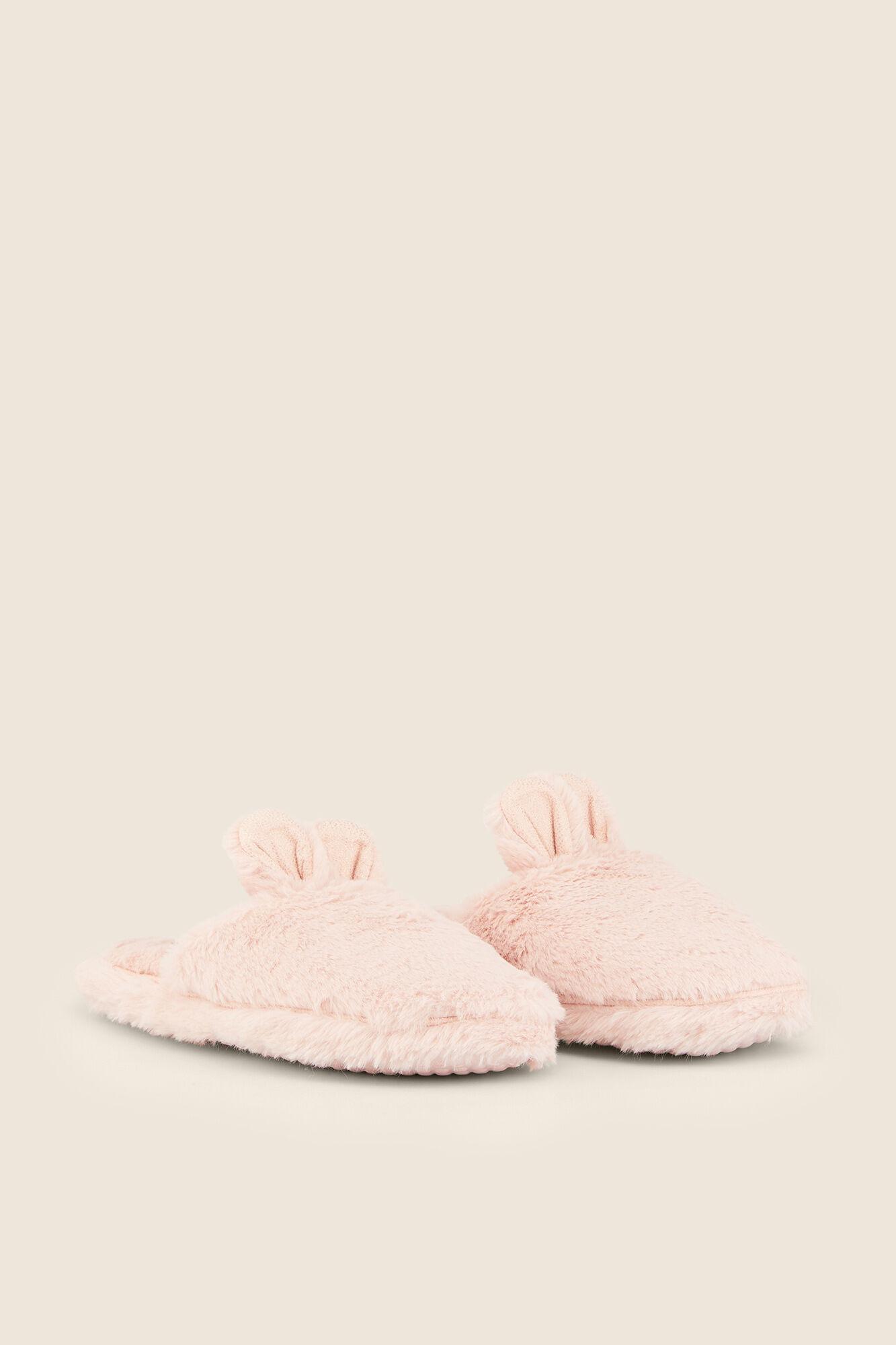 nueva colección disfruta el precio más bajo original de costura caliente Zapatillas casa peluche conejito   Zapatillas   Women'secret