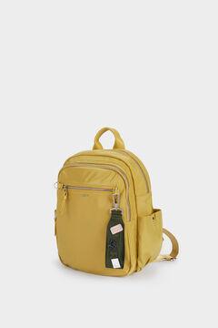 Womensecret Nylon backpack with outside pocket printed