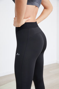 Womensecret Legging entrenamiento negro