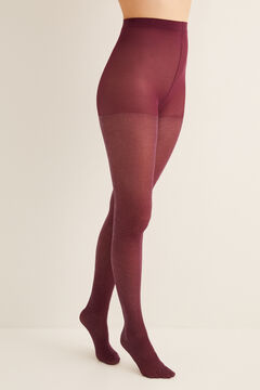 Womensecret Lurex tights red