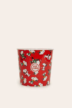Womensecret Snoopy popcorn bowl red