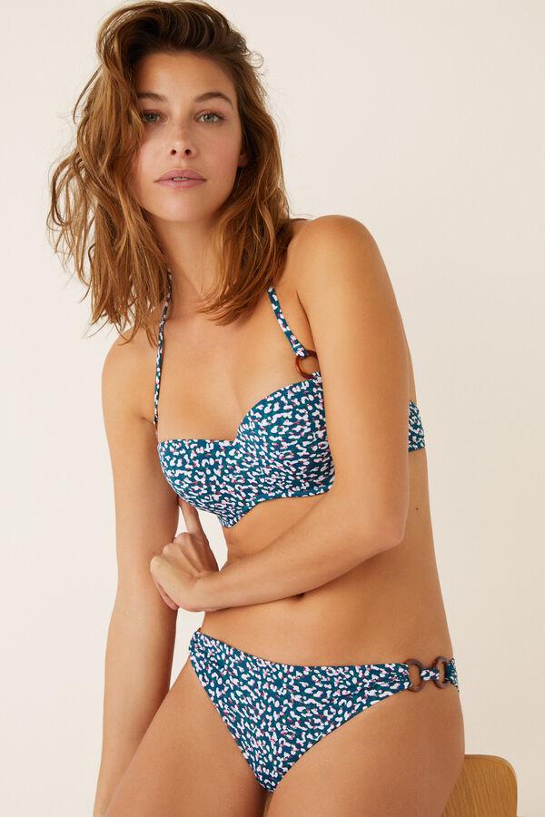 5782845f00 Womensecret Top bikini animal print con relleno estampado