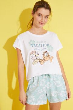 Womensecret Short 100% cotton pyjamas beige