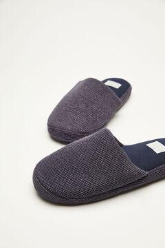 Womensecret Zapatillas destalonadas azul azul