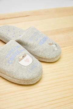 Womensecret Zapatillas destalonada gris Moderna de Pueblo gris