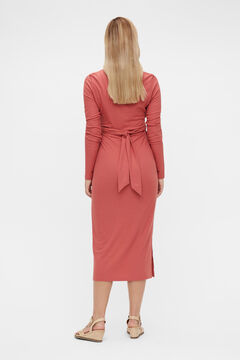 Womensecret Midi maternity dress pink