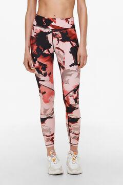 Womensecret Printed leggings pink