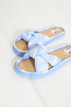 Womensecret Sandalias tiras cruzadas lazo Snoopy tie-dye azul