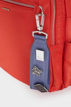 Womensecret Nylon backpack with outside pocket red