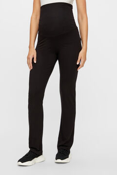 Womensecret Organic cotton maternity trousers noir