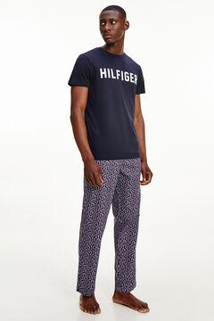 Womensecret Camiseta de manga corta azul marino azul
