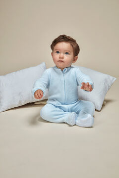 Womensecret Pijama Manta bebê azul