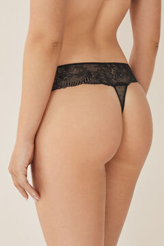 Womensecret Lace thong black