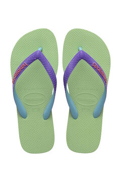 Womensecret Chanclas TOP MIX verde