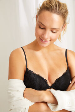 Womensecret GORGEOUS Black lace push-up bra black