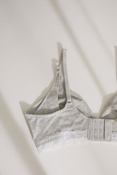 Womensecret NATURAL Soutien-gorge Maternity triangle gris gris