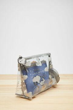 Womensecret 3-pack Snoopy vanity cases blue