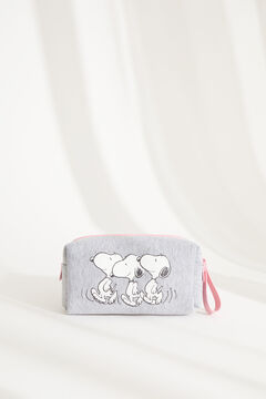 Womensecret Small grey Snoopy vanity case grey