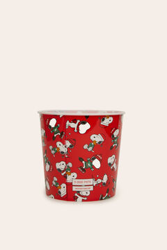 Womensecret Bol pour pop-corn Snoopy rouge
