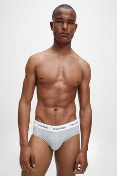 Womensecret Calvin Klein cotton briefs with waistband printed