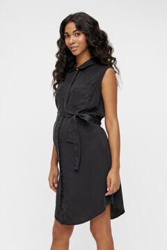Womensecret Vestido camiseiro maternity preto