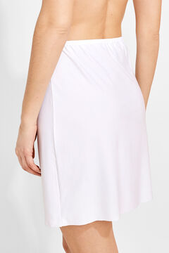 Womensecret Slip skirt branco