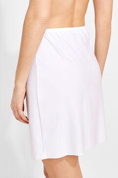 Womensecret Combi-jupe blanc