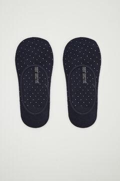 Womensecret Navy blue no-show socks blue