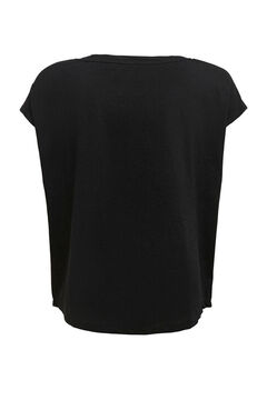 Womensecret Camiseta entrenamiento negro