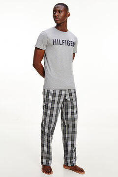 Womensecret Camiseta de manga corta gris gris