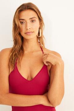 Womensecret Swimsuit- trikini halterneck pink
