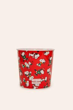 Womensecret Bol pour pop-corn Snoopy rouge