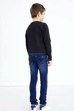 Womensecret Jeans de menino azul