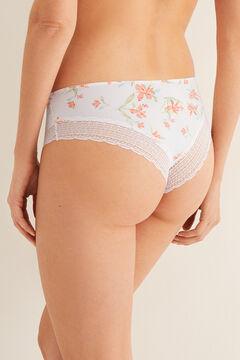 Womensecret Boyshort Brazilian panty white