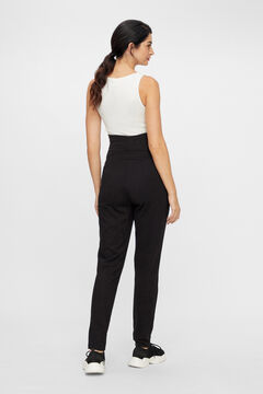 Womensecret Lenzing Ecovero maternity trousers black