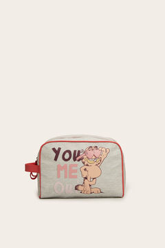 Womensecret Large Garfield vanity case grey