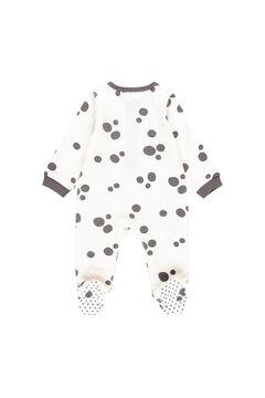 Womensecret Babygrow malha do bebê - Algodão orgânico branco