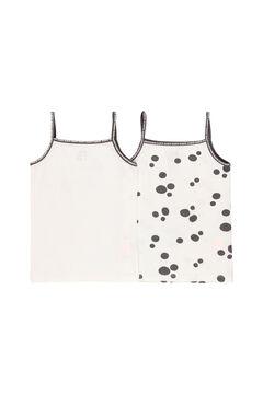 Womensecret Pack 2 camiseta para menina - orgânico branco
