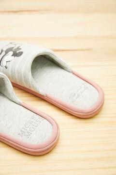 Womensecret Grey Mickey slippers grey