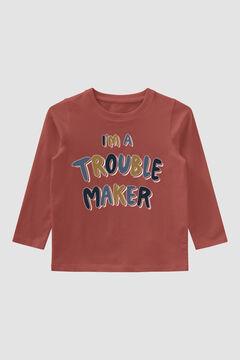 Womensecret T-shirt estampada criança vermelho