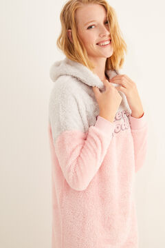 Womensecret Nightgown with hood  pink