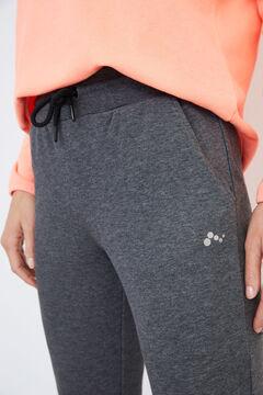 Womensecret Pantalón deportivo gris