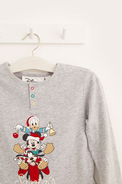 Womensecret Kinder-Pyjama Micky Maus Grau grau