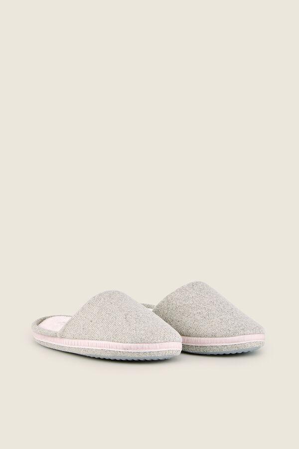 0a59b31e20 Womensecret Zapatillas de casa tela gris
