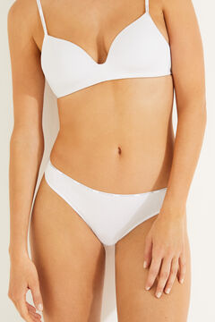 Womensecret 6-pack organic cotton thongs printed