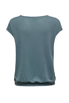 Womensecret Metallic detail training t-shirt blue