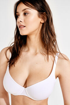 Womensecret Underwired padded bra white