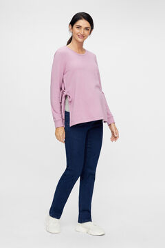 Womensecret Maternity side tie top rose