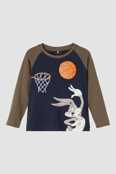 Womensecret T-shirt Space Jam® para menino azul